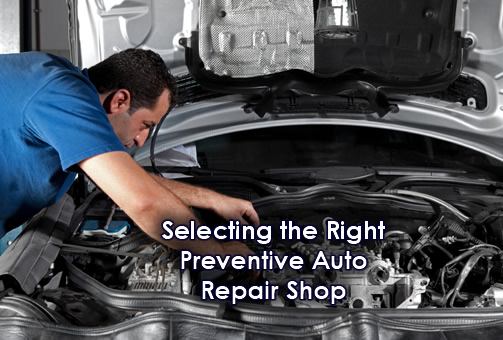 Choose an auto repair shop
