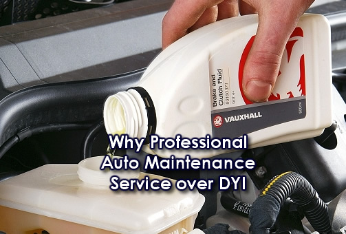 5 Reasons for Professional Auto Repair vs. DIY