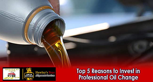 5 Benefits of Regular, Professional Oil Change