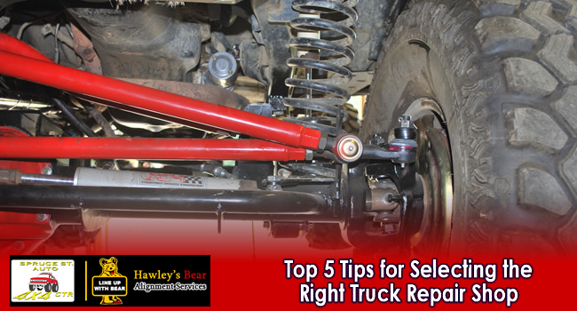 The Top 5 Tips for Selecting the Right Truck Repair Shop